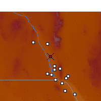 Nearby Forecast Locations - Mesquite - Carte