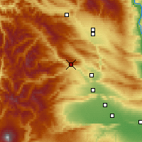 Nearby Forecast Locations - Naches - Carte