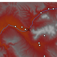Nearby Forecast Locations - Palisade - Carte