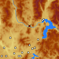 Nearby Forecast Locations - Priest River - Carte