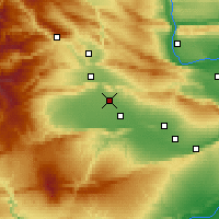 Nearby Forecast Locations - Wapato - Carte