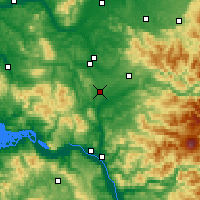 Nearby Forecast Locations - Winlock - Carte