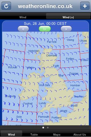 weahter app WeatherOnline